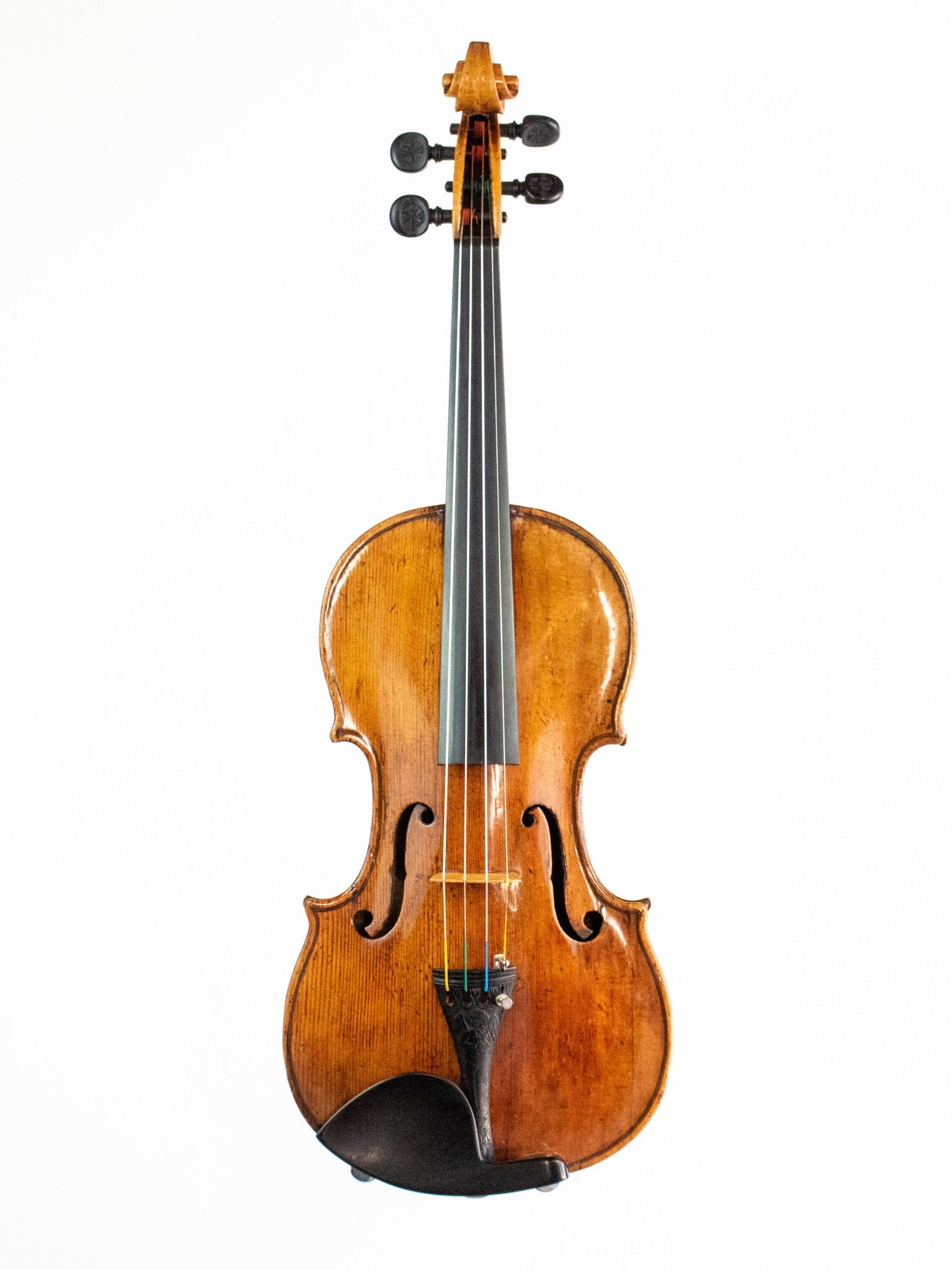 Dutch J. T. Cuypers violin, Amsterdam, ca 1760, with Kenneth Warren certificate ***CERT***