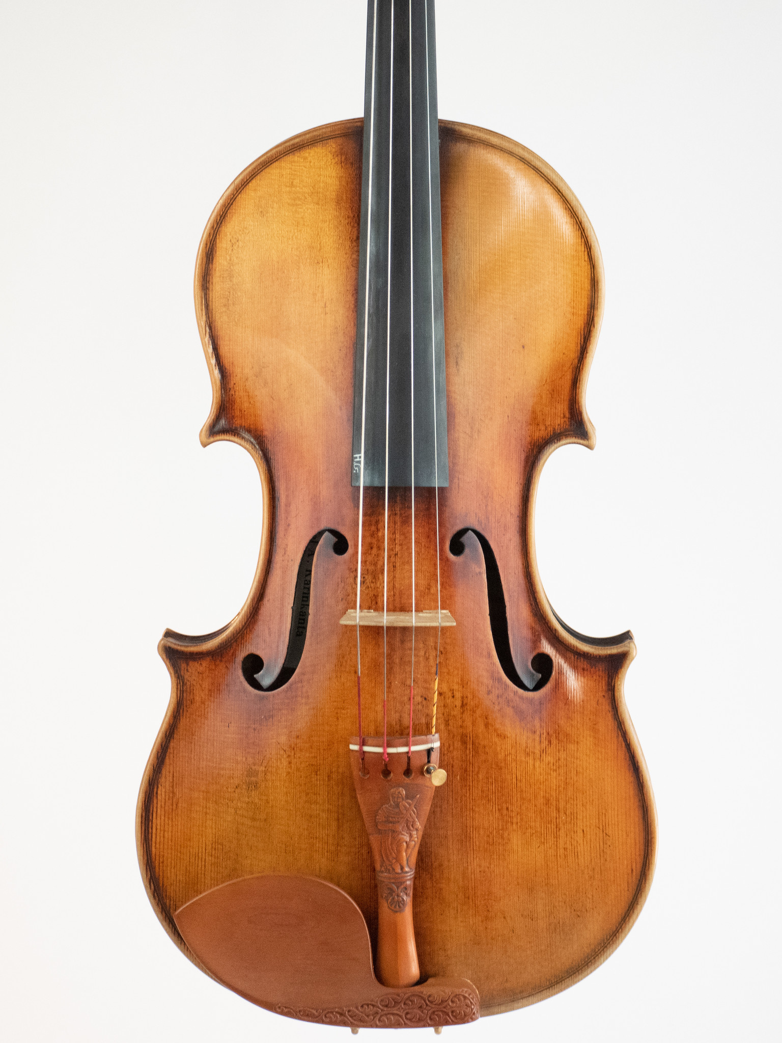 """Daniel Karinkanta 16.5"""" viola, antiqued Guarneri model, 2003, Buenos Aires, ARGENTINA"""