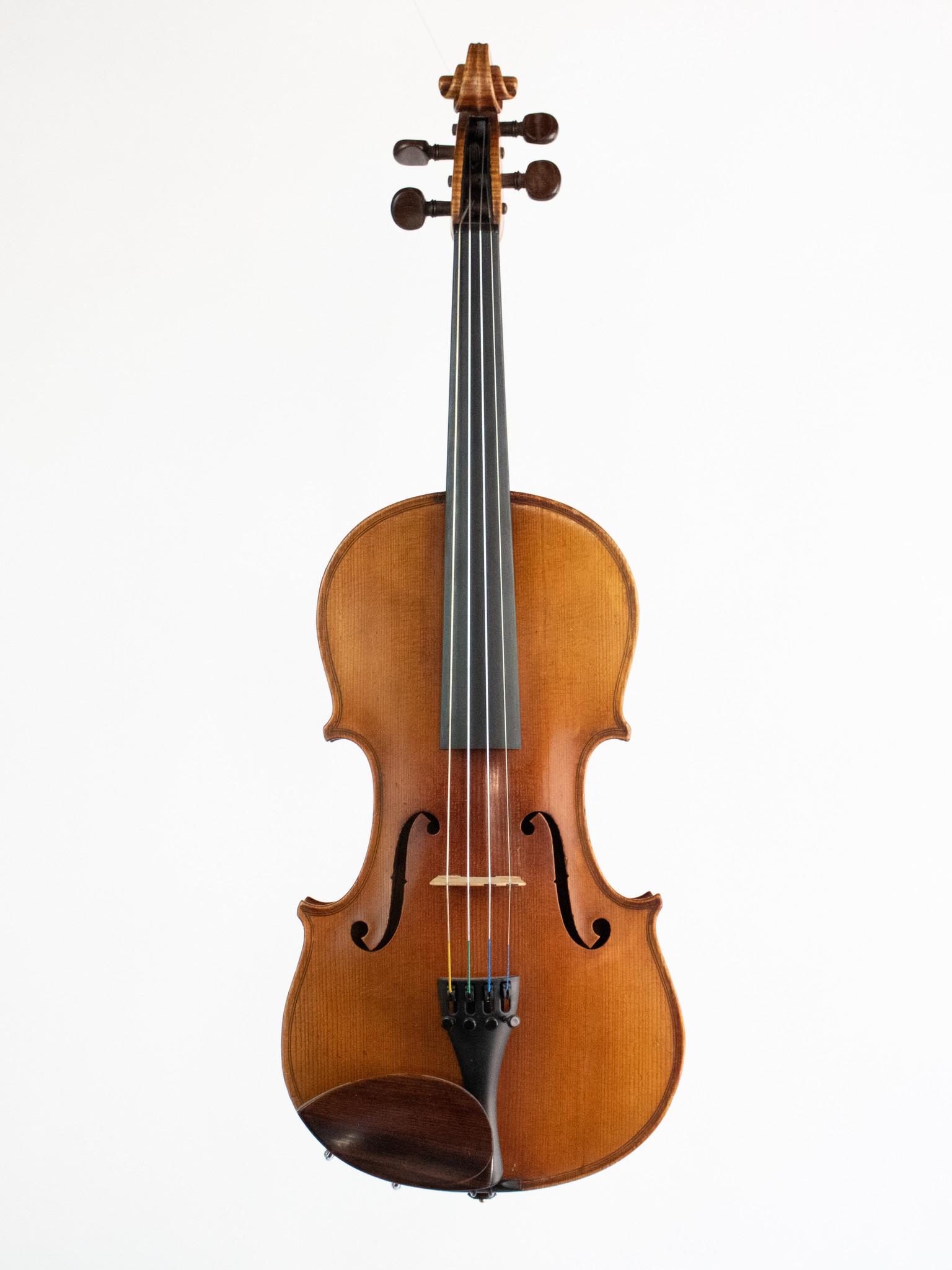 (Awaiting repair) Louis Lowendall violin, 1885, Dresden, GERMANY, repaired