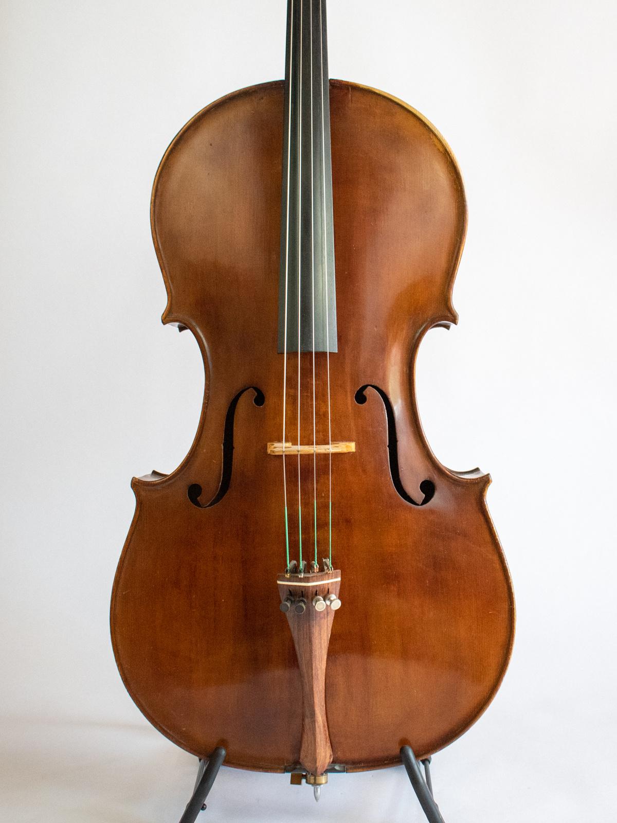 Italian Ernsto Pevere cello, 1933, Ferrara, ITALY