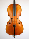 Great Wall Fine unlabeled 1/4 flamed cello by Great Wall