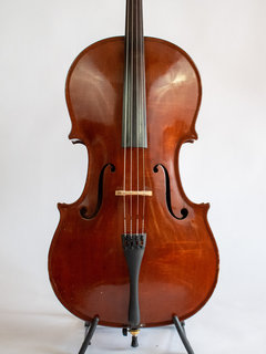 Gibson 1941 cello model VC110 with solid top & laminated back, USA