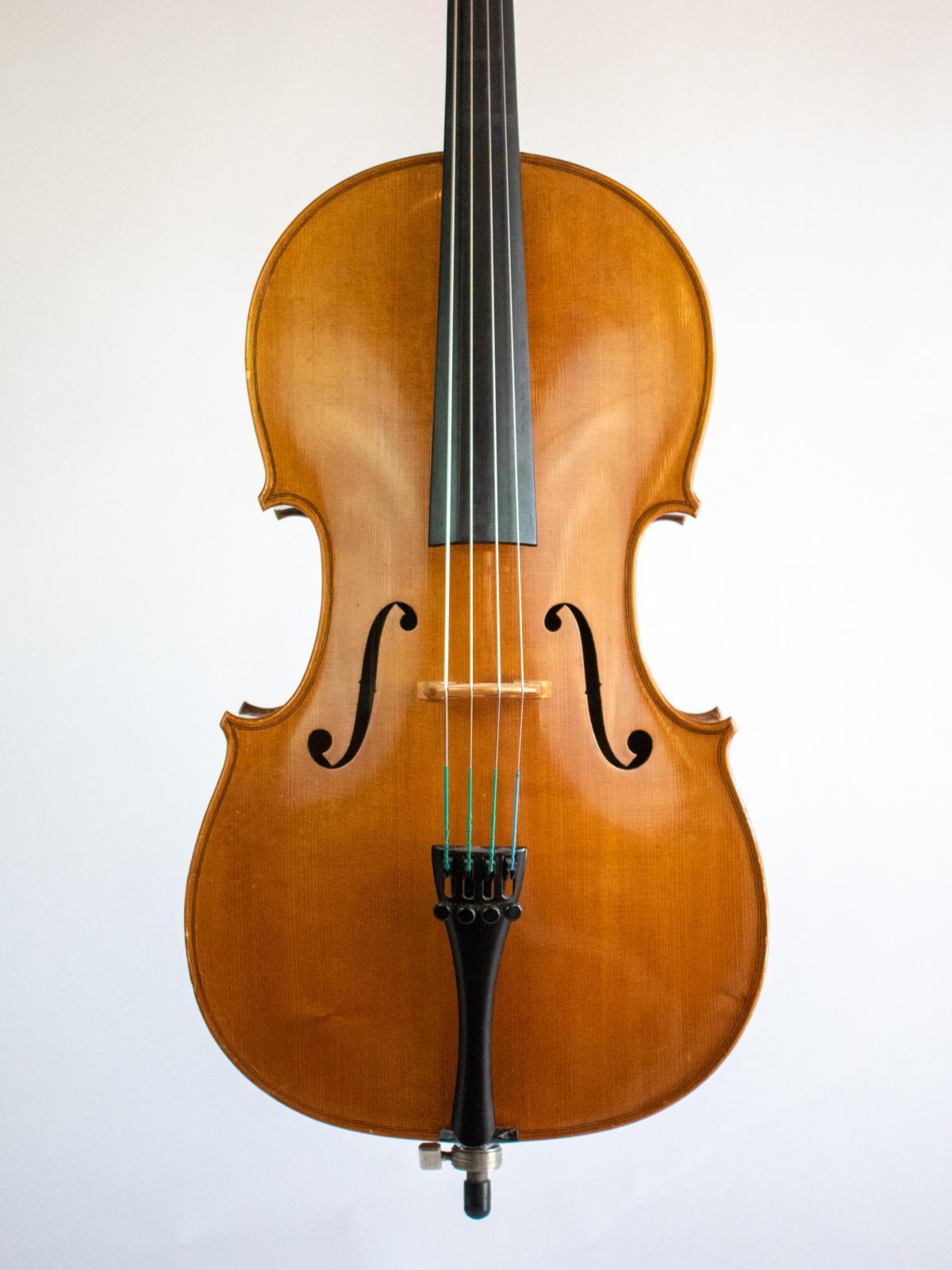 Made for Leah D. Metzler 1/8 cello