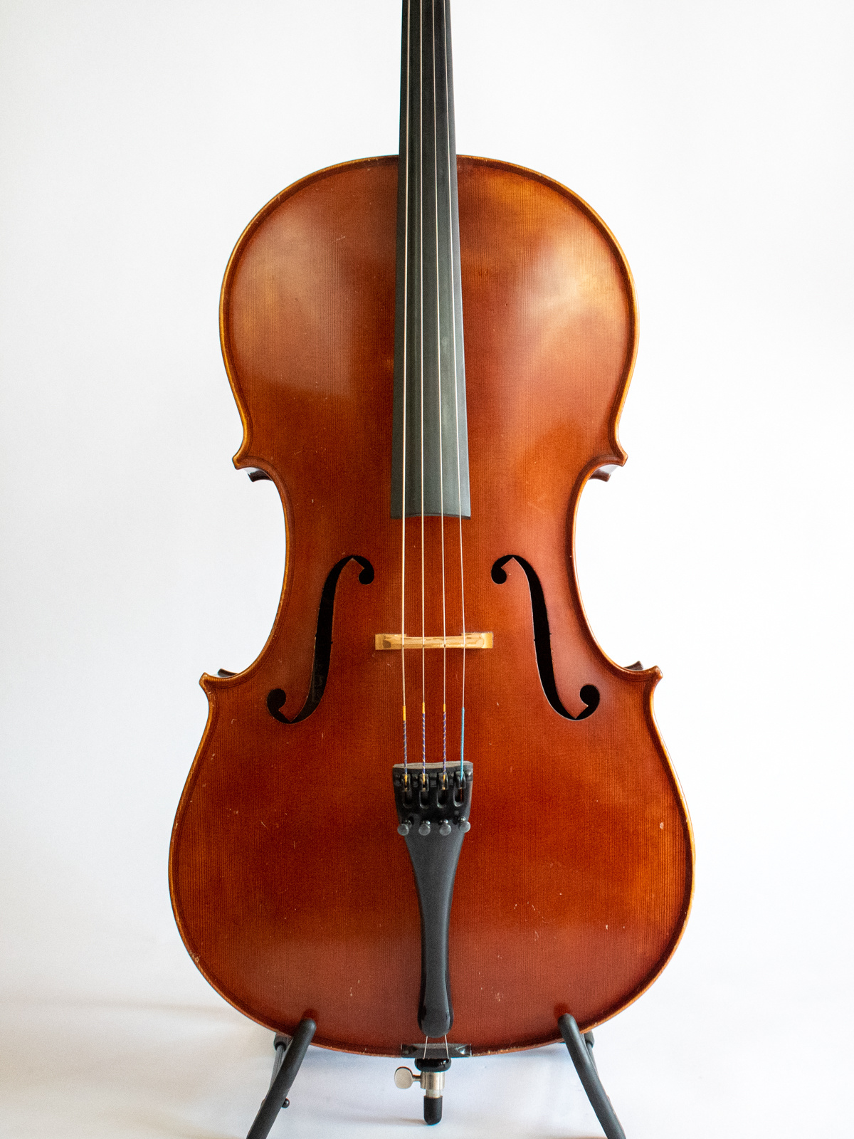 Spezial Illner Riedl SIR used 7/8 cello, 1998, Bubenreuth, Germany.