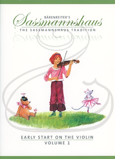 Barenreiter Sassmannshaus: Early Start on the Violin, Vol.1 (violin) Barenreiter