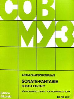 Edition Sikorski Khachaturian, Aram: Sonata Fantasie (cello solo)