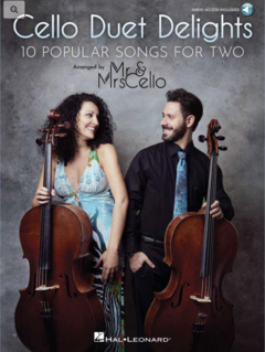 HAL LEONARD Cello: Cello Duet Delights - 10 Popular Songs for Two (2 cello) Hal Leonard