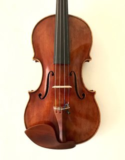 European GIUSEPPE ROSSI 1923 label European violin