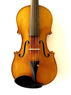 """Ant. Stradivarius 1718"" 15.25"" viola, GERMANY"