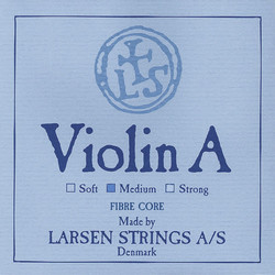 Larsen Larsen Original violin A string, medium aluminum wound, synthetic core