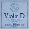 Larsen Larsen Original violin D string, medium aluminum wound, synthetic core