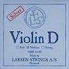 Larsen Larsen Original violin D string, medium silver wound, synthetic core