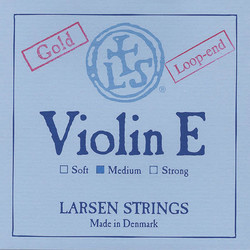 Larsen Larsen Original violin E string, gold,