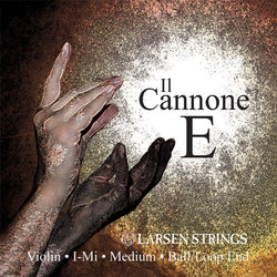 Larsen Larsen Il Cannone Medium violin E string, removable ball end