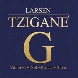 Larsen Tzigane violin G string medium by Larsen