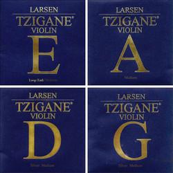 Larsen Tzigane violin string set by Larsen,