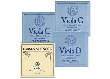 Viola Strings, Larsen Original