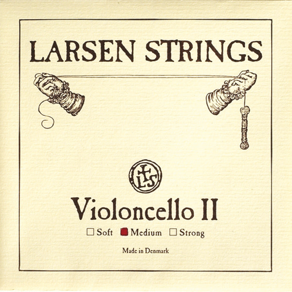 Larsen Larsen Original cello D string, steel,