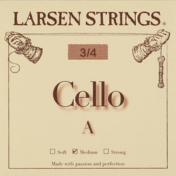 Larsen Larsen cello A string, steel, medium, fractional sizes