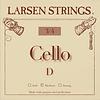 Larsen Larsen cello D string, steel, medium, fractional sizes