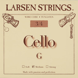 Larsen Larsen cello G string, steel, medium,