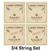 Larsen Larsen cello string set, medium, fractional sizes