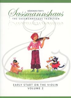 Barenreiter Sassmannshaus: Early Start on the Violin, Vol.2 (violin) Barenreiter