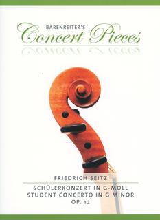 Barenreiter Seitz, F.: Student Concerto in G minor Op. 12 (violin & piano)