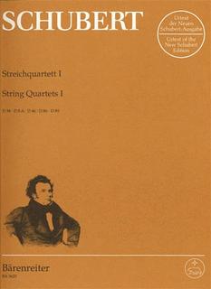 Barenreiter Schubert, F.: String Quartets Vol.1,  Barenreiter