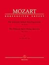 Barenreiter Mozart, W.A.: Thirteen Early String Quartets, Vol. 4, No.11-13, Barenreiter Urtext