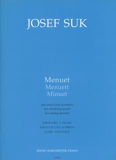 Barenreiter Suk, Josef: Menuet (string quartet) Barenreiter, out of print