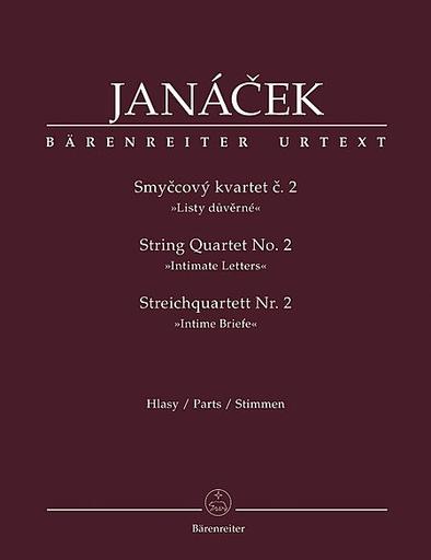 Barenreiter Janacek, Leos: String Quartet No. 2 (Intimate Letters)