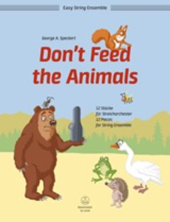 Barenreiter Speckert: Don't Feed the Animals; 12 Pieces for String Ensemble (string quartet) Barenreiter