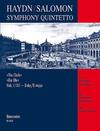 Barenreiter Haydn, F.J. (Hogwood): Clock Symphony (flute, 2 violins, viola, cello, piano) Barenreiter