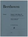 Beethoven: Cello Sonata in A Major, Op. 69 (cello and piano) Henle
