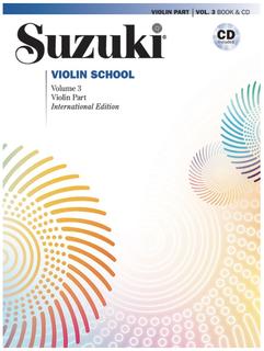 Alfred Music Suzuki Violin School, Volume 3 (violin) Alfred