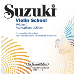 Alfred Music Suzuki Violin School, Volume 1, Performed by Hilary Hahn, (violin)