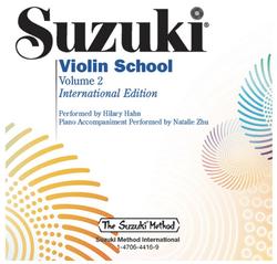Alfred Music Suzuki Violin School, Volume 2, Performed by Hilary Hahn (violin)