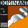 Thomastik-Infeld DOMINANT violin E string by Thomastik-Infeld, tin-plated, removable ball-end