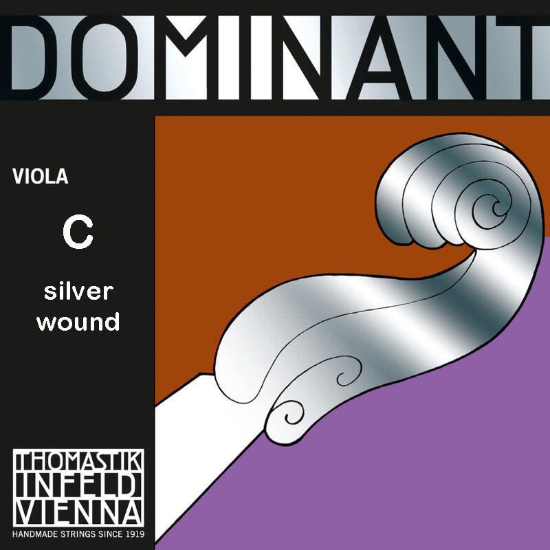 Thomastik-Infeld DOMINANT viola C string by Thomastik-Infeld, silver wound,