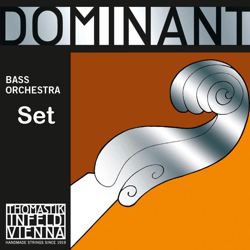 Thomastik-Infeld DOMINANT bass string SET by Thomastik-Infeld, 3/4, medium