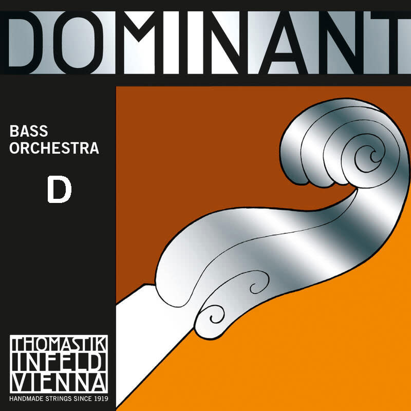 Thomastik-Infeld DOMINANT bass D string by Thomastik-Infeld, 3/4, medium