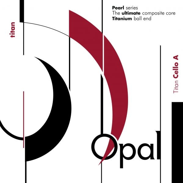 For-tune Opal Titan cello steel A string, by For-tune, medium,  4/4