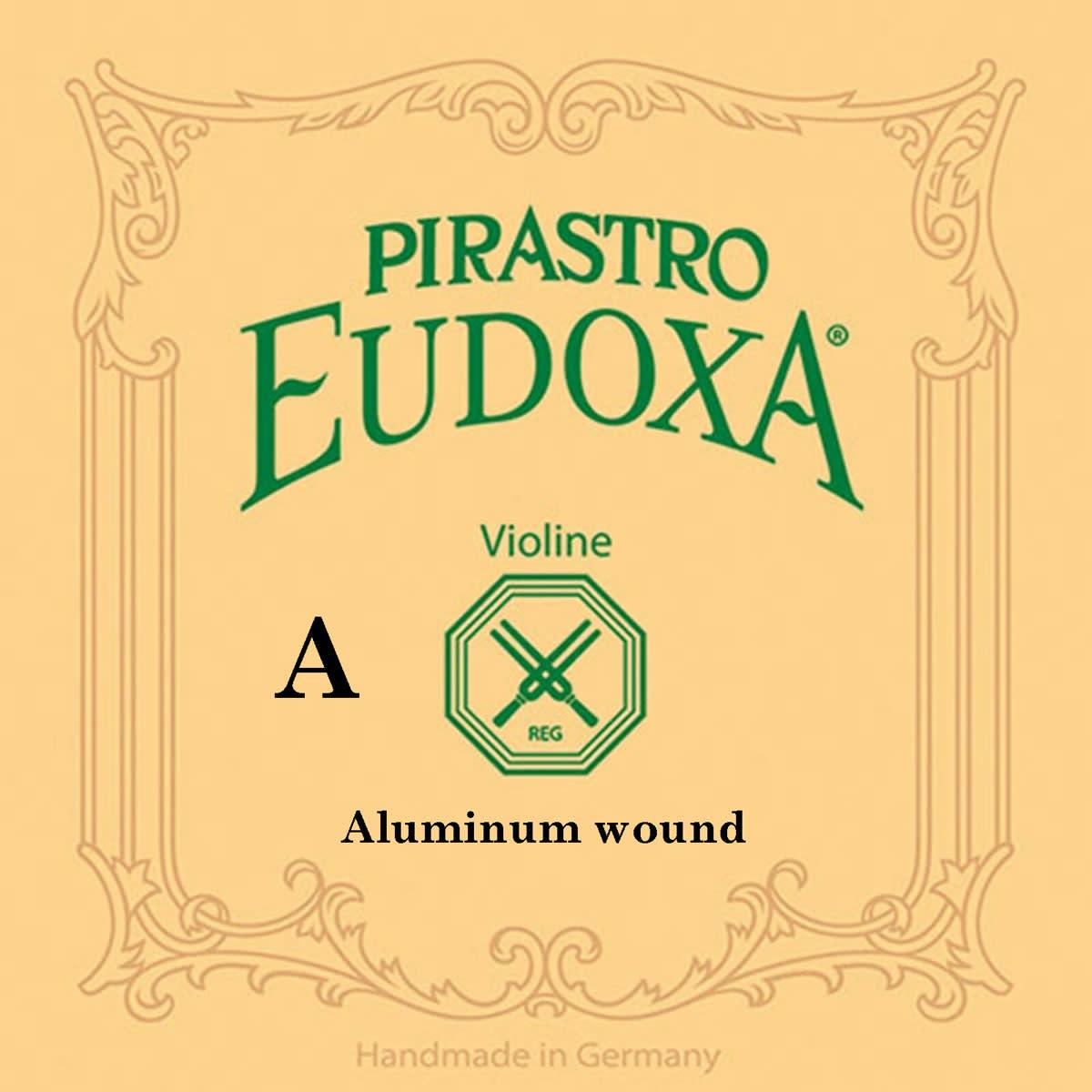Pirastro Pirastro EUDOXA violin A string, aluminum wound on gut, 13 3/4, in envelope
