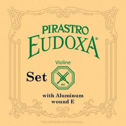 Pirastro Pirastro EUDOXA violin string set, medium, with aluminum wound A,