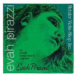 Pirastro Pirastro EVAH PIRAZZI silvery steel violin E string, Medium, Loop