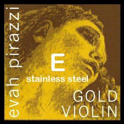 Pirastro Pirastro EVAH PIRAZZI GOLD, stainless steel violin E string, medium