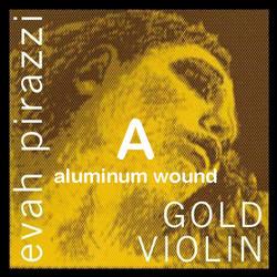 Pirastro Pirastro EVAH PIRAZZI GOLD violin A string, aluminum, medium