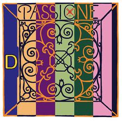 Pirastro Pirastro PASSIONE violin D string, silver over gut, medium