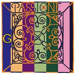 Pirastro Pirastro PASSIONE violin G string, silver over gut, medium